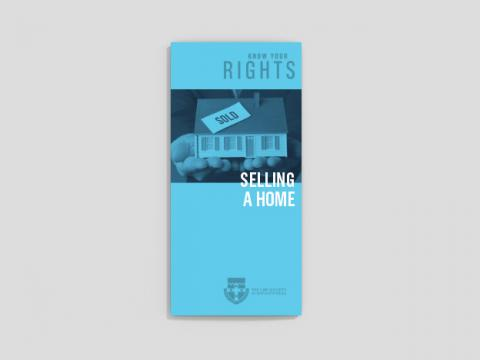 Know your rights - Buying and selling a home (25 per pack)