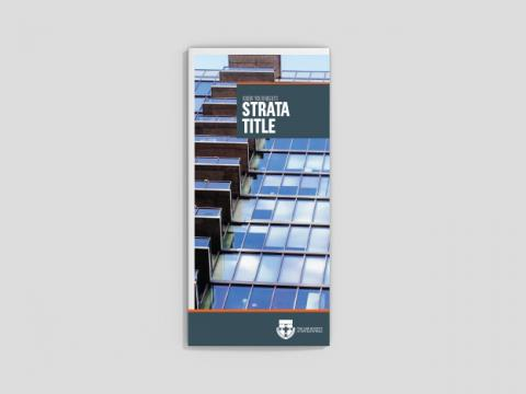 Know your rights - Strata title (25 per pack)
