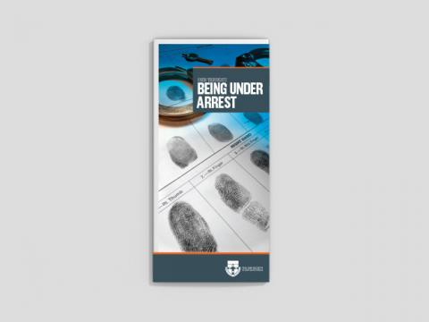 Know your rights - Being under arrest (25 per pack)