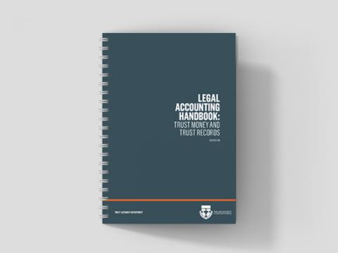 Legal Accounting Handbook: Trust Money and Trust Records 8th Edition (2020)
